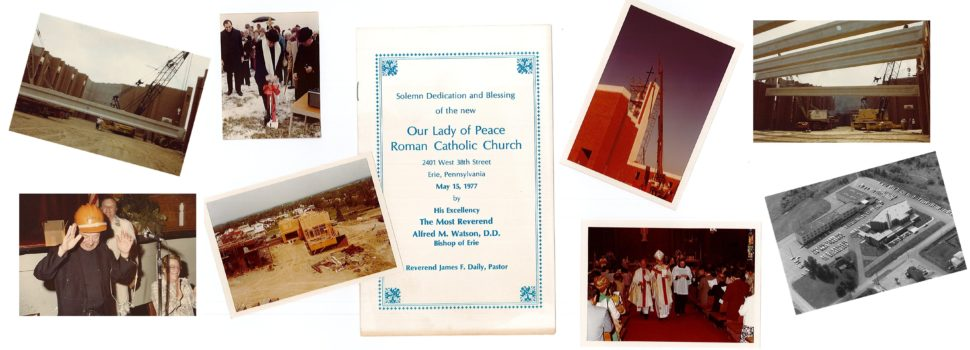 Dedication of Our Lady of Peace Church 1977
