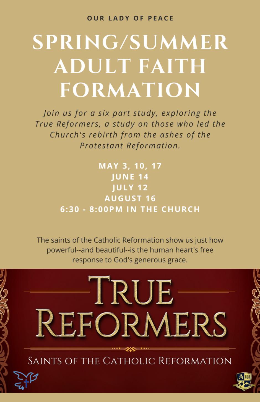 True Reformers Flyer