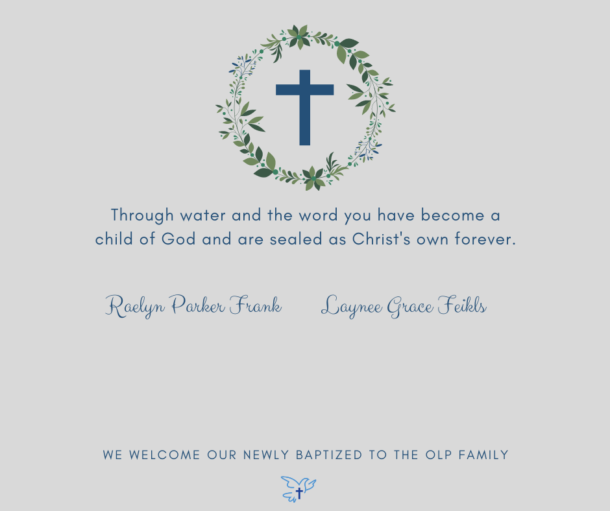 June 2021 Baptisms