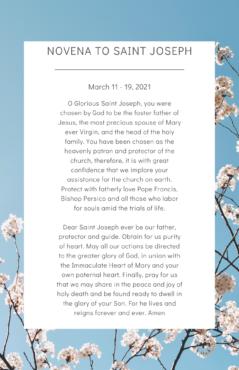 Novena to Saint Joseph